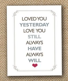Would love to say this in a note to my to-be husband on our wedding day..