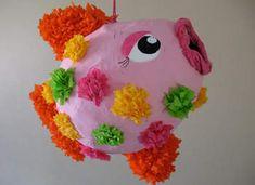colorful fish pinata