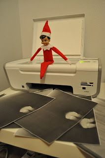 "I'm not a fan of this ""Elf on a Shelf"" business, but this is funny!"