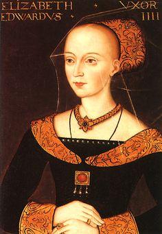 Elizabeth Woodville, wife of Edward IV.