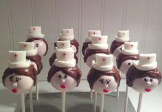Nursing Graduation Cake Pops