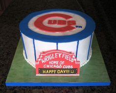 cub cake, bake cake, groom cake