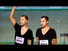Funniest SYTYCD Audition Ever. Ninja Twins