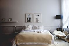 Bedded Bliss. Cozy bedroom. Vanessa Traina in Lonny Mag.