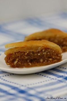 Baklava with Homemade Phyllo Pastry