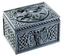StealStreet Dragon Celtic Jewelry Box Collectible Tribal Container Sculpture