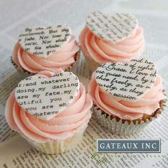St Valentine cupcake