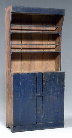 Old Primitive Southern Step Back Cupboard...I WANT!