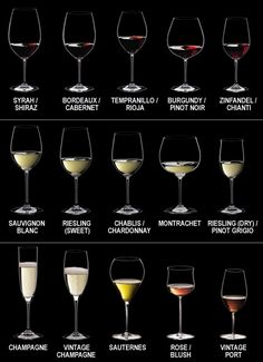 wine glass chart    #wine  #glass  #chart