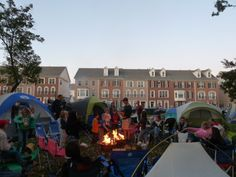 Urban Camping in Brambleton, love it!
