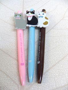 Jetoy Choo Choo Cat Pens