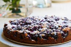Blueberry Cake on Simply Recipes