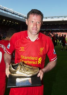 A selection of photos from Jamie Carragher's 737th and final game as a Liverpool player