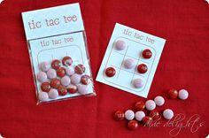Tic Tac Toe Printable Valentine
