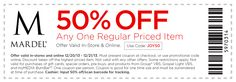 50% off #coupon valid Dec. 20 & 21, 2013 only! In-store or online at #Mardel! #MerryChristmas!