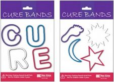 """Relay for Life """"Cure Bands"""""""