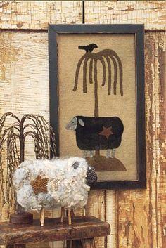 primitive sheep crafts