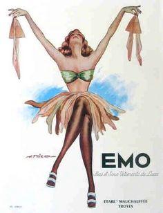 vintage stocking ads | Vintage silk stocking ad