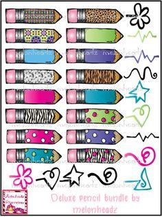 MelonHeadz: Deluxe pencil bundle -- Soooo cute!!