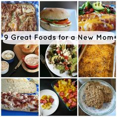 9 Great Foods for a New Mom - In case you didn't know, new moms are ravenous. Bring some of these tasty foods to help her get back her energy.