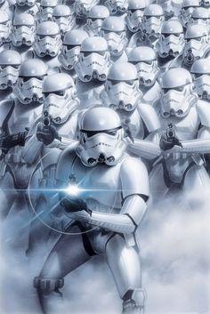 STAR WARS - troopers  - Europosters