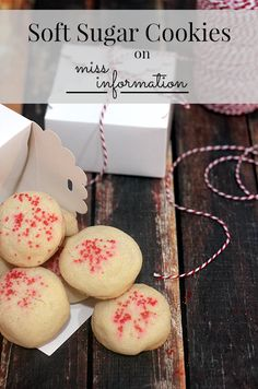 Soft Sugar Cookies |