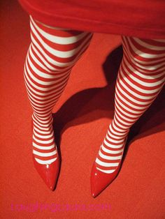 red stripe, color, red shoes, candi cane, candy canes, colour red, stripe leg, fierc red, stripe tight