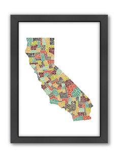 American Flat - California Color