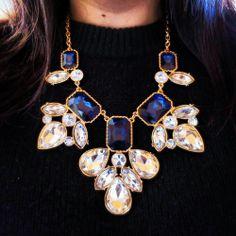 statement necklaces, lizzibeth necklac