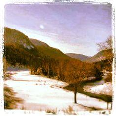Winter scene at Highlands Links Golf