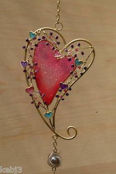 wind chime, bookmark, pendant, glass, garden