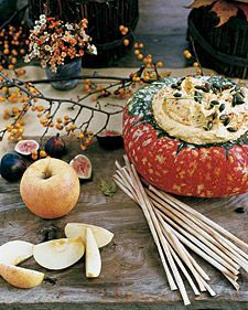 Get the holiday dinner started with Thanksgiving appetizers that the whole family can gather around. These recipes will keep your friends and guests happy while the dinner is being prepared -- and they won't even notice if it's running late. Included are appetizer favorites such as baked brie, cheese logs, crackers, dips, spiced nuts, and cheese straws.