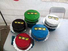 Ninjago Cakes