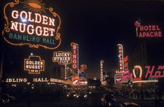 Las Vegas: Rare Photos of the Gambling Capital in 1955 - LIFE
