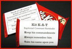 Baptism Kit Kat