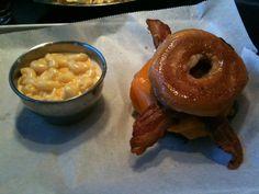 burger sandwich, bacon burger