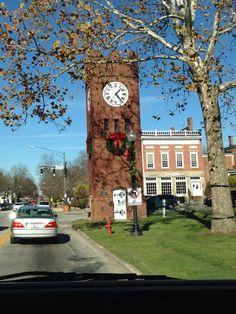 Hudson, Ohio clock tower