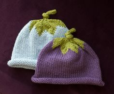 berry baby hats