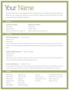 Great Unique Resume Samples On Pinterest Resume Professional