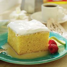 Postre de Tres Leches, or Three Milk Cake, is a sumptuous, moist dessert that's a sweet finale to any meal.  This three milk cake recipe is made from heavy cream and GOYA® Sweetened and Condensed milk and poured on top of the cooked-and-cooled cake. The result is Postre de Tres Leches heaven!