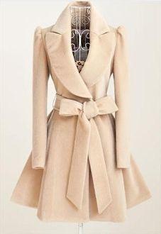 Sweet Faux Mink Fur Trench Coat/Dress