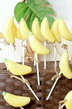 Banana Cake Pops