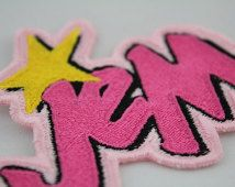 Jem and The Holograms patch