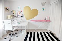 cute craft space!