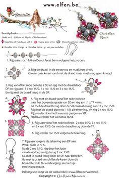 Free Earrings Pattern featured in Bead-Patterns.com Newsletter!