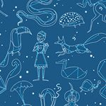 Constellation Teal ~ Constellations