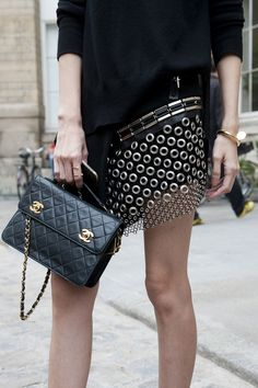 The Accessory Stars of Paris Fashion Week  #pfw #streetstyle #ss14