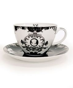 Cameo tea cup.