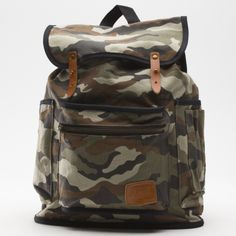 Chambers Printed Backpack - camouflage
