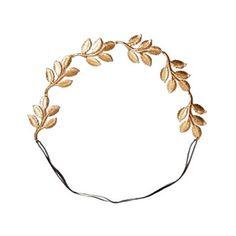 greek leaf headband. want.